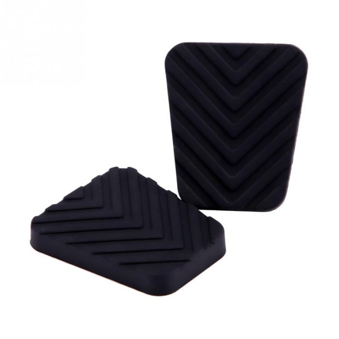 BRAKE AND CLUTCH PEDAL COVER PAD RUBBERS for PEUGEOT 206