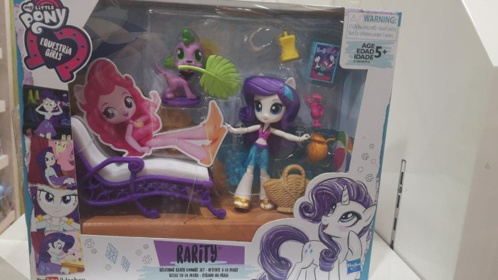 Jual Boneka Karakter Kuda Poni My Little Pony Equestria Girls Rarity Set Jakarta Barat Chocolate Collection Tokopedia