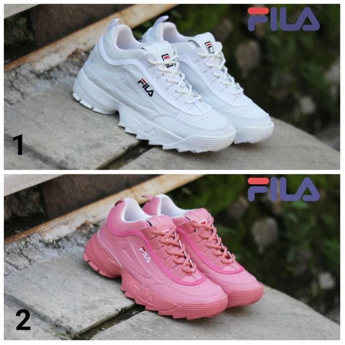 fila disruptor 2 kw super women. sepatu sneakers wanita. sepatu fila -  Pink d8b0fe0853