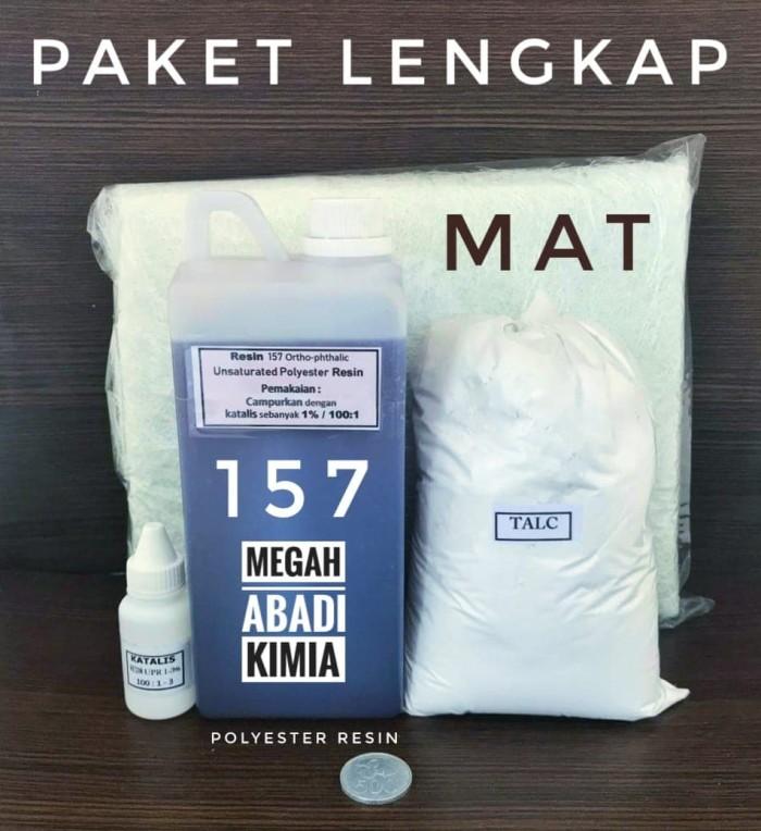 Foto Produk PAKET Lengkap Resin 157 / katalis / Mat / Talc dari Megah Abadi Chem