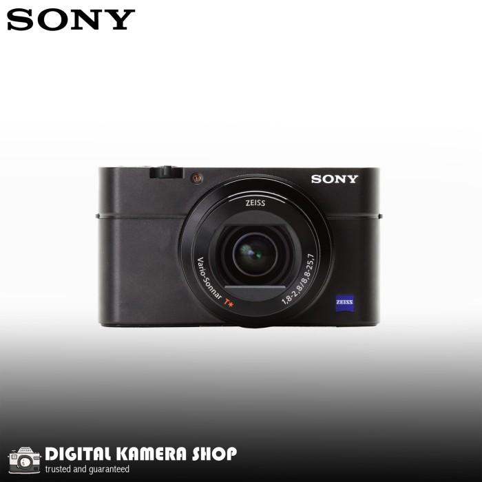 harga Sony dsc-rx100 iii cyber-shot digital camera black 20.1 mp Tokopedia.com
