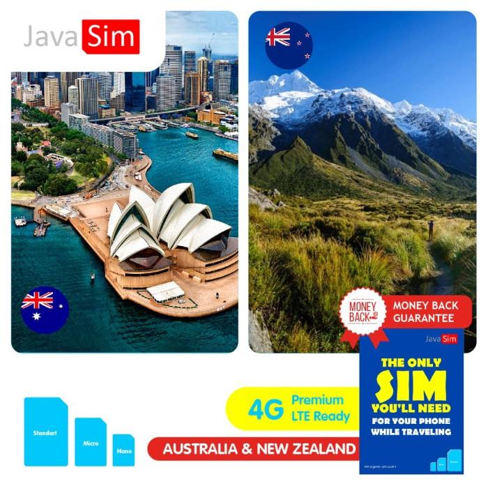 Jual AUSTRALIA/NEW ZEALAND SIMCARD UNLIMITED - TUJUH HARI - TRAVEL INET  POCKET WIFI   Tokopedia
