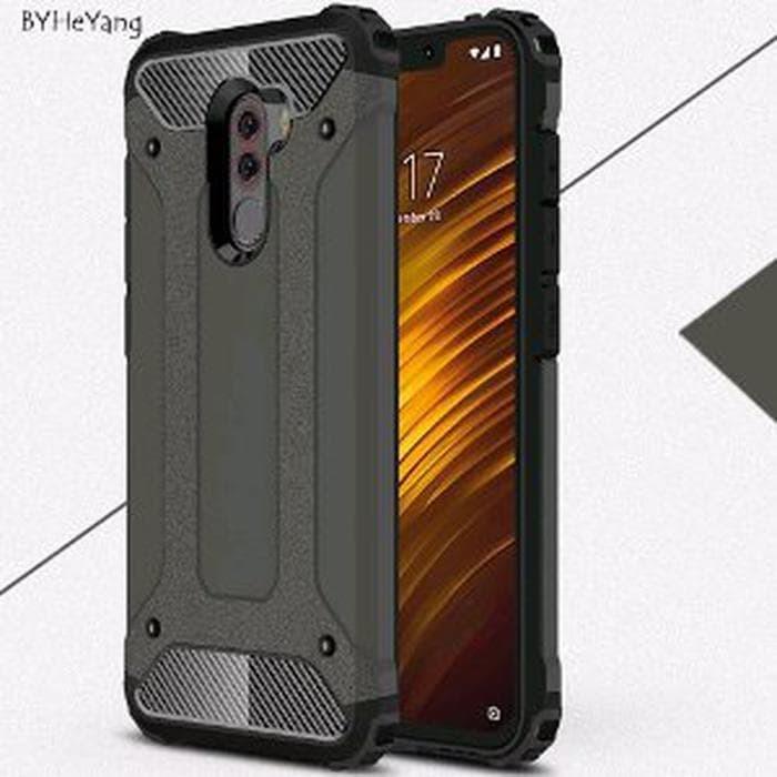 the latest e26be 5fbdd Jual DISKON Case Xiaomi Pocophone F1 Poco F1 Hardcase Spigen KW Armor Tech  - FOXCON | Tokopedia