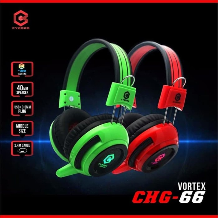 Headset Gaming Cyborg CHG 66 Vortex