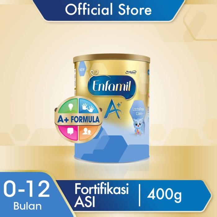 Foto Produk Enfamil A+ Lacto Free Susu Formula Bayi Bebas Laktosa 400g dari Enfa A+ Official Store
