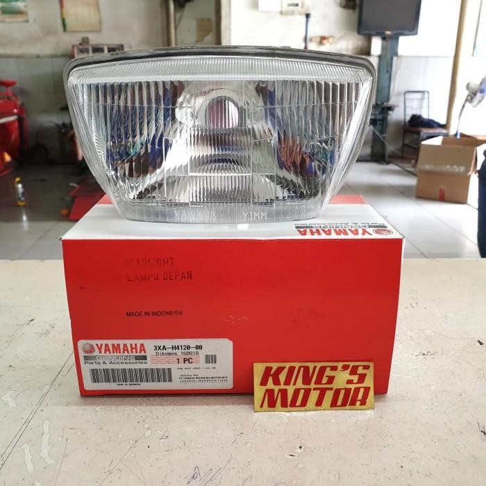 PROMO!!BISA COD!! LAMPU DEPAN, REFLEKTOR, REFLECTOR FORCE 1, CRYPTON, FIZ R (3XA) TERSEDIA JUGA !!! Lampu motor variasi & osram/Lampu motor led super terang yamaha & led depan & beat led putih/Lampu motor philips/Lampu motor custom