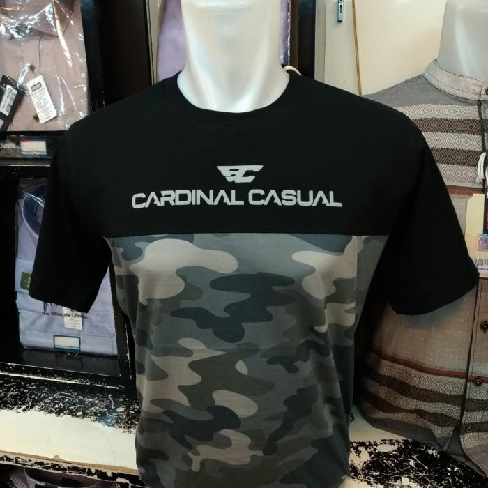 harga Cardinal original mens tshirt kaos oblong santai army hitam eaiar799  Tokopedia.com d42c3d810d