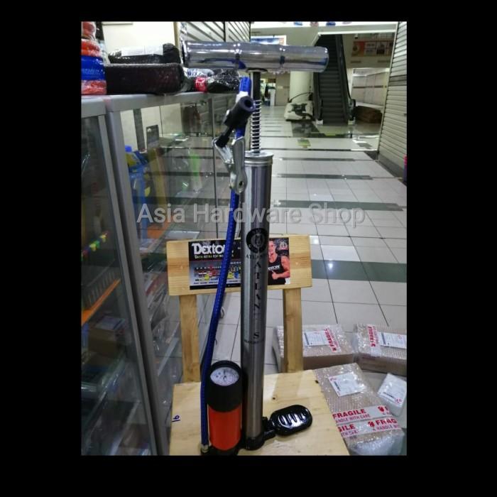 harga Pompa ban sepeda motor mobil bola model tabung meter manual stainless Tokopedia.com