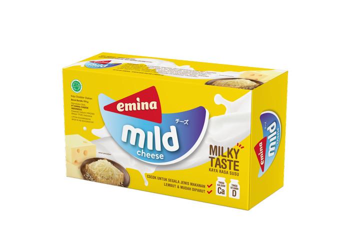 Foto Produk EMINA Cheese Mild @ 170gr dari PT PANGAN LESTARI