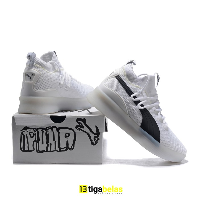 premium selection 9948a 735cb Jual SEPATU PUMA CLYDE COURT DISRUPT white black - Kota Batam - tigabelas  id | Tokopedia