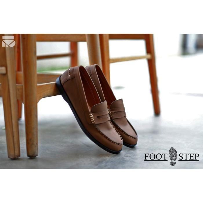 8694570b6d1 Jual PARADISE BROWN FORIND x FSTP Sepatu Vintage Klasik Sporty Pria ...