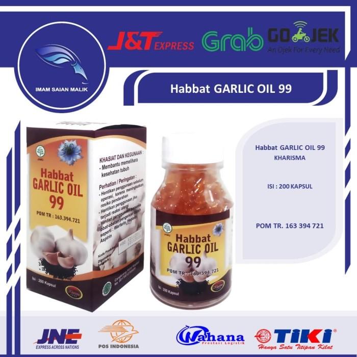 haabbat garlic oil 99 200 KPS kharisma - habbat garlic - obat alergi