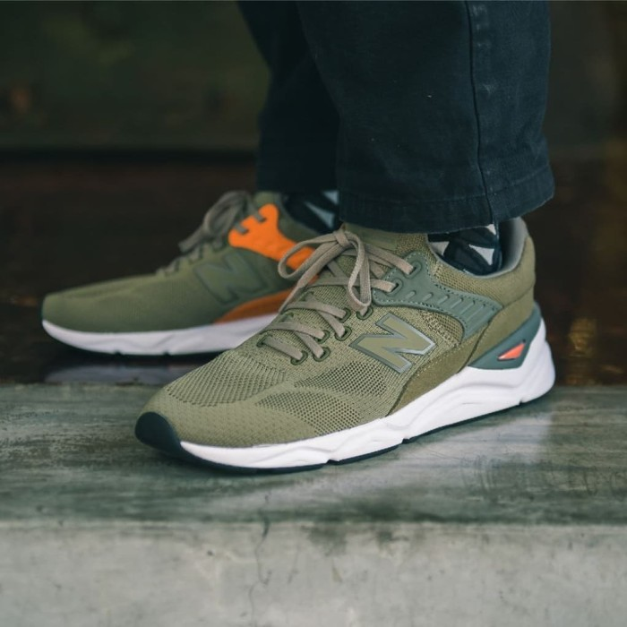 online store official images cheap for discount Jual Sepatu New Balance Mens X 90 Olive Green Orange Original BNIB - DKI  Jakarta - Go Shoes Jakarta (INA) | Tokopedia