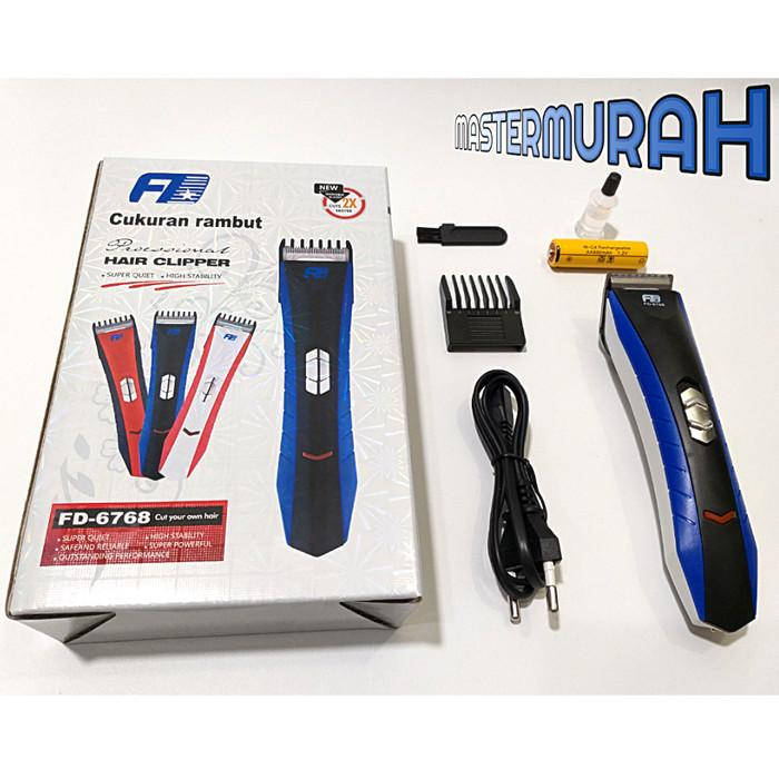 Pencukur Rambut/ Alat Cukur FD-6768 Hair Clipper Portable Wireless