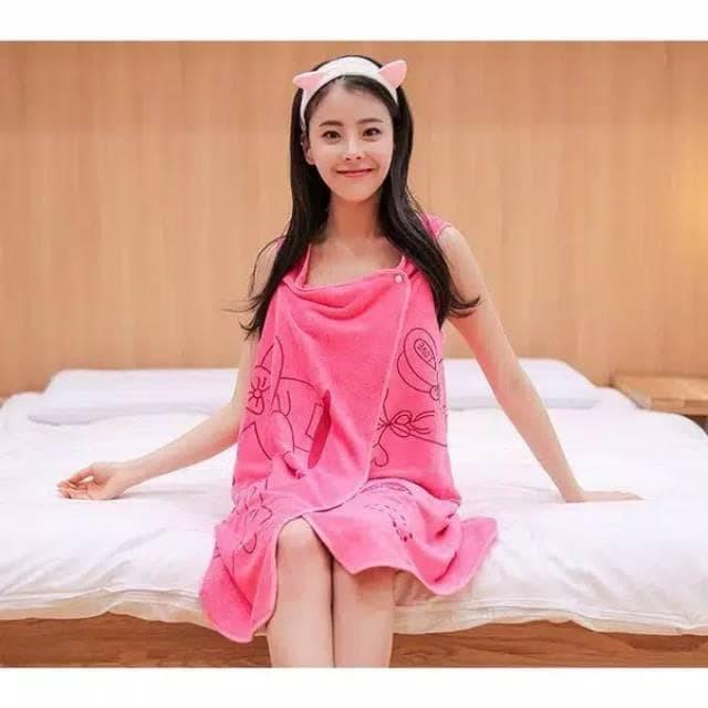 Baju Handuk Wearable Towel Handuk Multifungsi Kimono