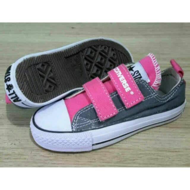 Jual Sepatu Converse Kid Tanpa Tali Perekat Converse Anak Anak ... 4897924f5a
