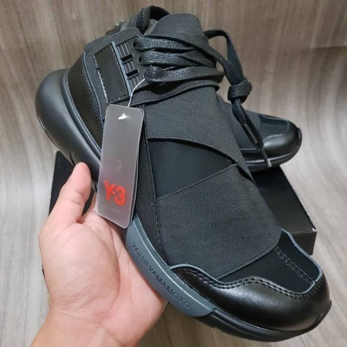 0ed761044 Jual TERMURAH Sepatu Adidas Y3 Qasa High Triple Black - DKI Jakarta ...