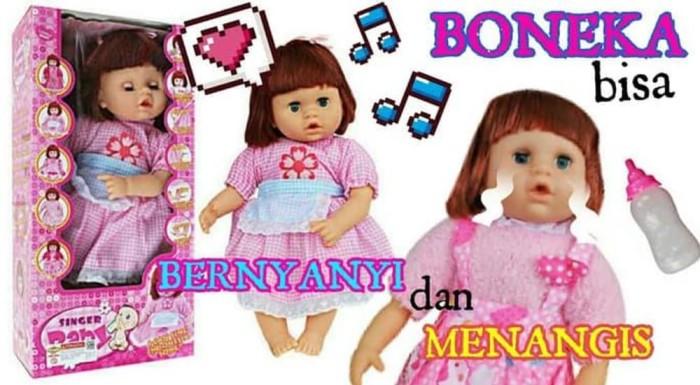 Jual Boneka Bayi Ngedot Bernyanyi 2 Bahasa Singer Doll Buat Kado ... 36e04552ae