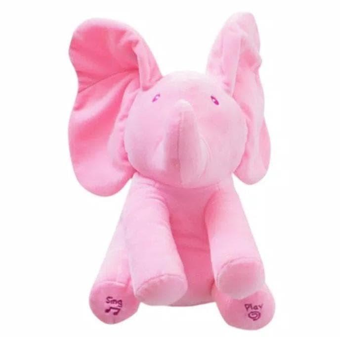 ... Informasi Harga Terlaris Boneka Import Gajah Atau Elephant Peek A Boo  Abu AbuSpotharga.com 6a79c7e5ff