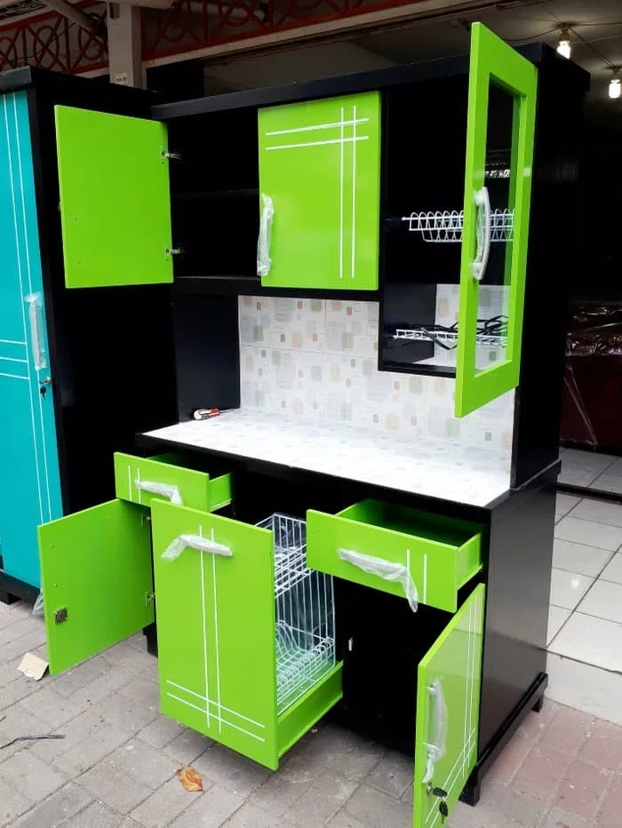 Jual Kitchen Set Mini Lemari Dapur Minimalis Kab Banyuwangi Furniture Bwi Tokopedia