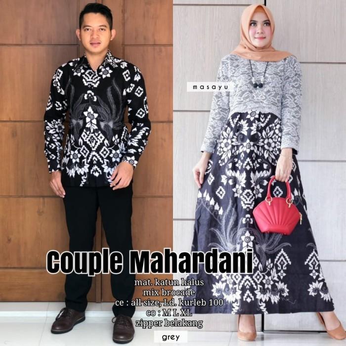 Jual Batik Couple Batik Sarimbit Gamis Brokat Mahardani Kota Surakarta Anitaolshop Tokopedia