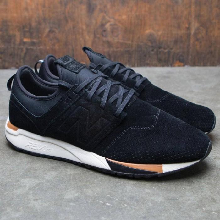 Jual sneakers new balance 247 luxe black tan 1 - Kab. Bandung - delicashop01 | Tokopedia