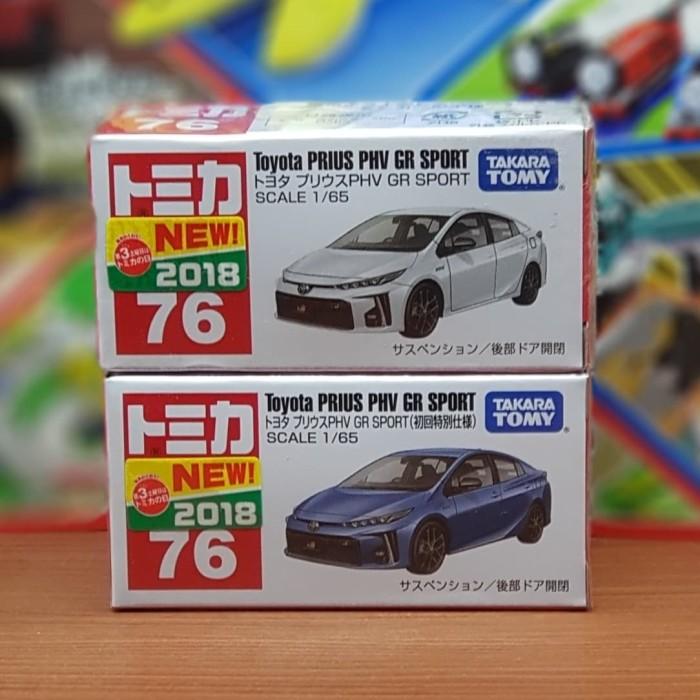 76 Toyota Prius PHV GR SPORT box TAKARA TOMY  Tomica No