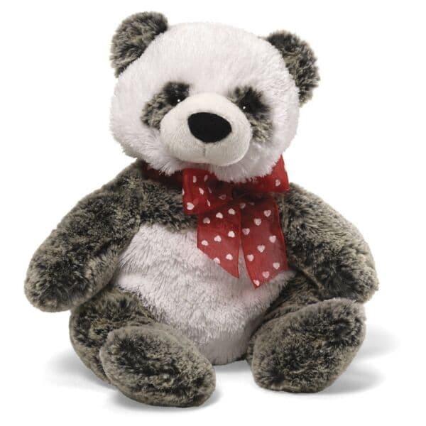 harga Gund - valentine mushmellow panda with heart ribbon Tokopedia.com