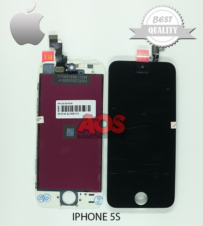 LCD TOUCHSCREEN IPHONE 5S HITAM