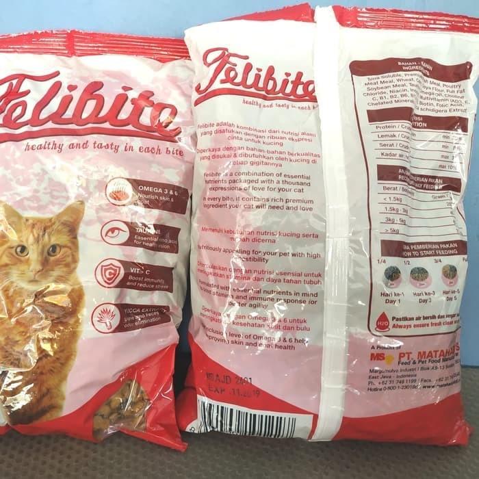 Jual Makanan Kucing Felibite Cat Food Premium Freshpack 500 Gr
