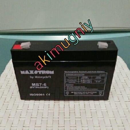 harga Aki accu baterai kering vrla mf 6v 7ah / 7ah 6v mobil mainan gs yuasa Tokopedia.com