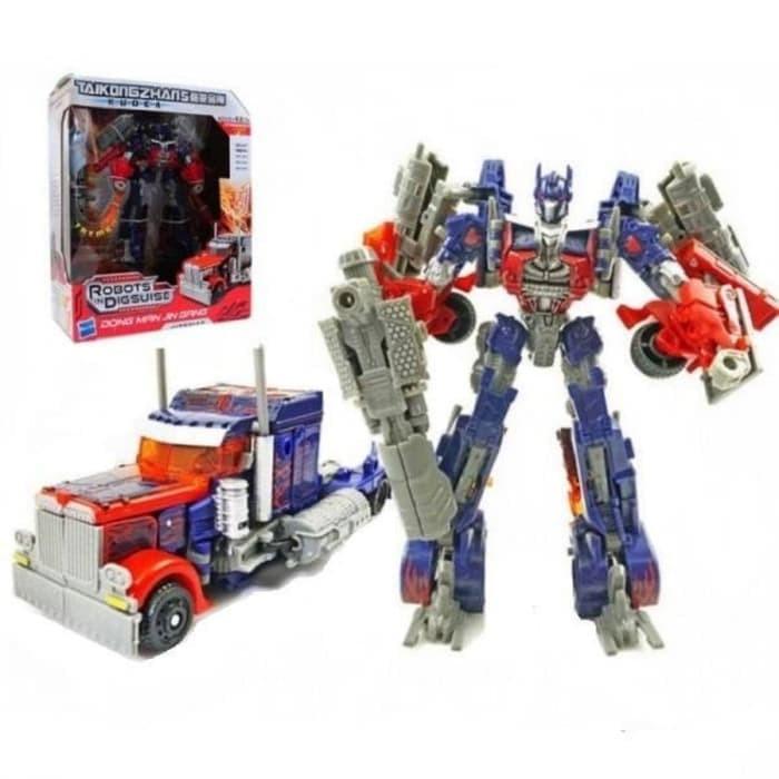 Foto Produk Mainan Anak Robot Transformer Kudea Taikongzhans - Optimus Prime dari istanatoys.net