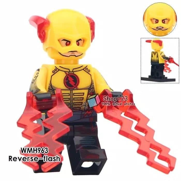 Jual Lego Minifigure Flash 016 Red Flash Xinh Minifigures Super