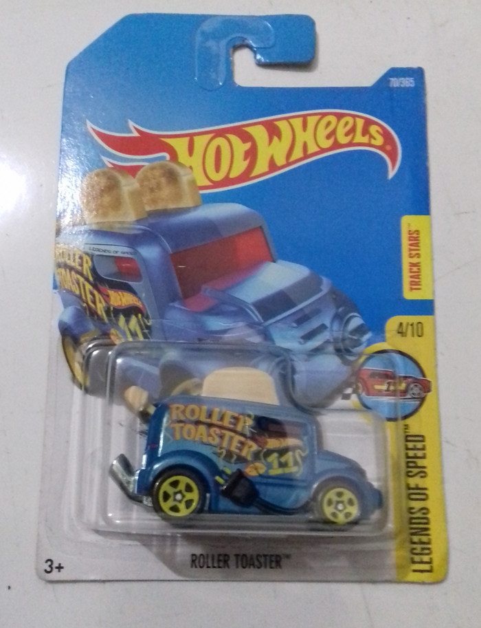 HW Hot Wheels Roller Toaster Biru