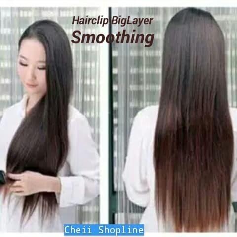 Smoothing Rambut Sebahu Goreng