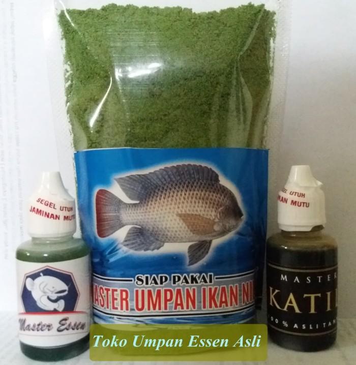 Paket Hemat Umpan Mancing Untuk Ikan Nila
