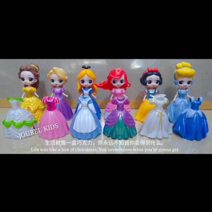 Jual Mainan anak cewek boneka figure set princess disney ariel ... deada19655