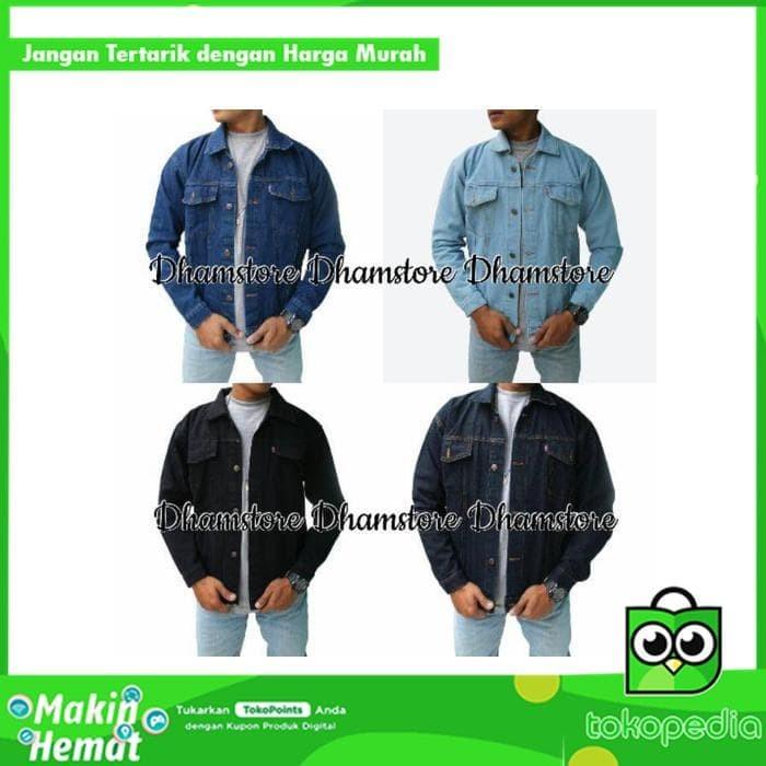 Diskon Gratis ongkos kirim   bayar di tempat COD Jaket jeans   jaket   60bacb0ee9