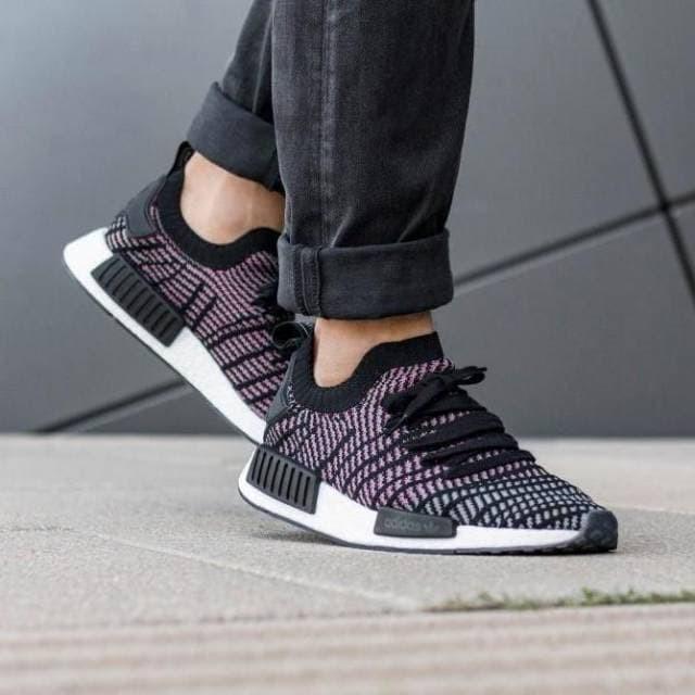 c9eb9f620 Jual Sepatu Sneakers Adidas NMD R1 STLT PK Core Black Original BNIB ...