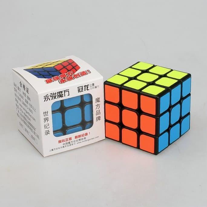 Rubik 3X3X3 Yong Jun Guanlong Murah Yj Speed Cube Yongjun 3X3 Murah