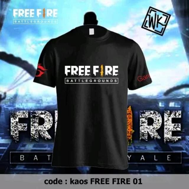 Jual KAOS GARENA FREE FIRE TERMURAH - Biru - Kota Bekasi - wjs shop |  Tokopedia
