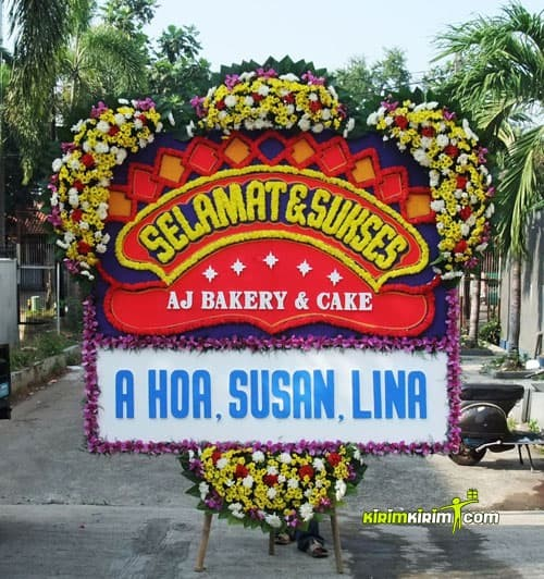 Jual Karangan Bunga Papan Ucapan Congratulations Gratis Ongkir Jakarta Utara Kirimkirim Florist Tokopedia