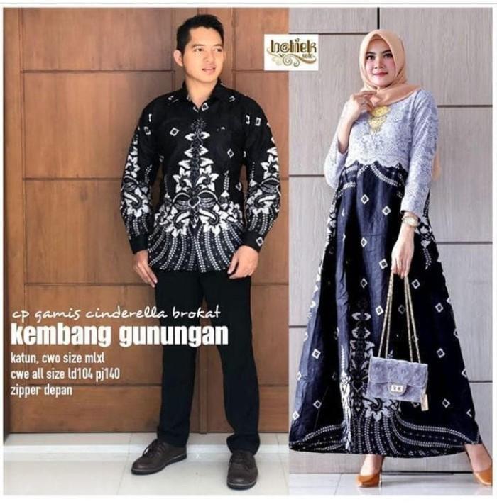Jual Setelan Baju Batik Gamis Remaja Sarimbit Batik Pesta Terbaru Zrv21 Kota Pekalongan Batik Putra Ilyas Tokopedia