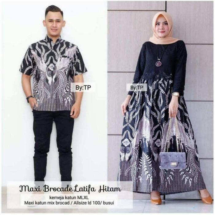 Jual Setelan Batik Couple Gamis Batik Pasangan Remaja Terbaru Zrv15 Kota Pekalongan Batik Putra Ilyas Tokopedia