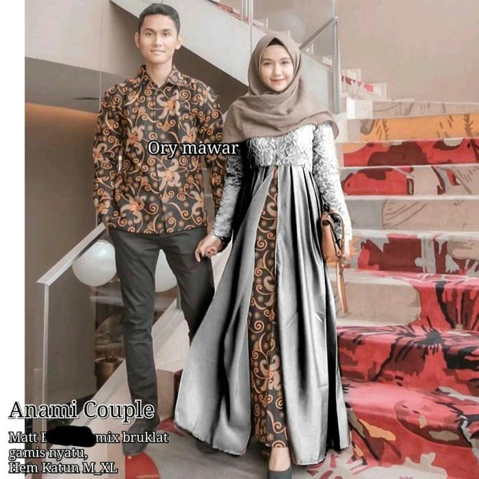 Jual Setelan Batik Couple Gamis Brokat Kondangan Pesta Remaja Znm27 Kota Pekalongan Batik Nakula Tokopedia