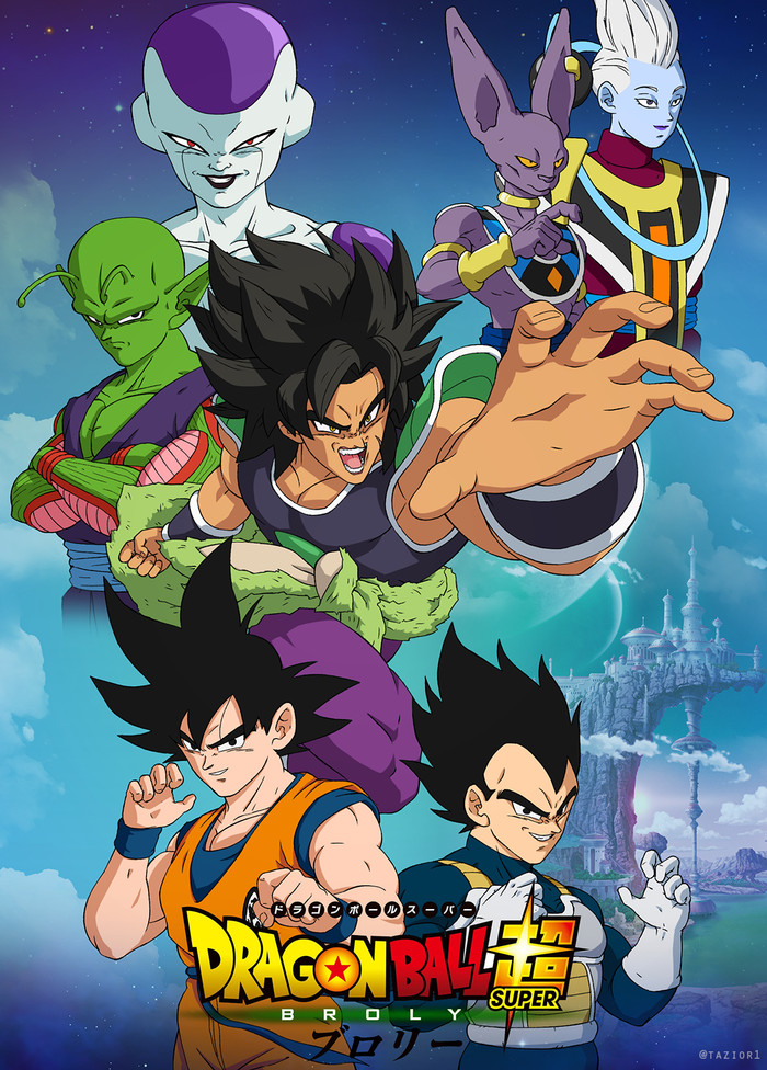 Jual Dragon Ball Super Broly Teks Indonesia Kualitas Hd Play Dvd