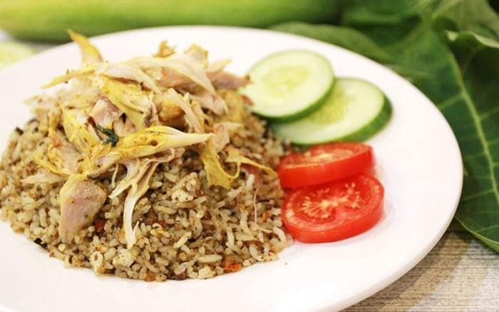 trend terbaru dekor nasi goreng fatiha decor Resepi Tumpeng Nasi Kuning Enak dan Mudah