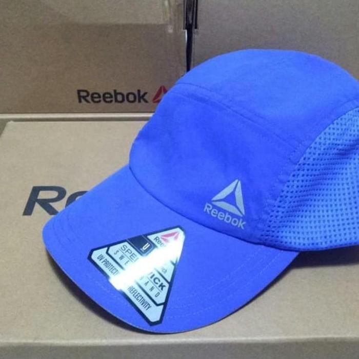 murah Termurah Dan Terbaru Topi REEBOK RUNNING CAP R804. ORIGINAL-Biru 5630b6fdbd