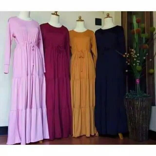Jual Gamis Canda Susun Dusty Pink Semarang Selatan Mqueen Shop Tokopedia