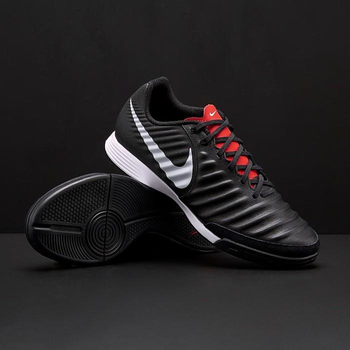 56cf75d9713ce Jual Sepatu Futsal Nike Tiempo Legend VII Academy IC - Black/Pure ...